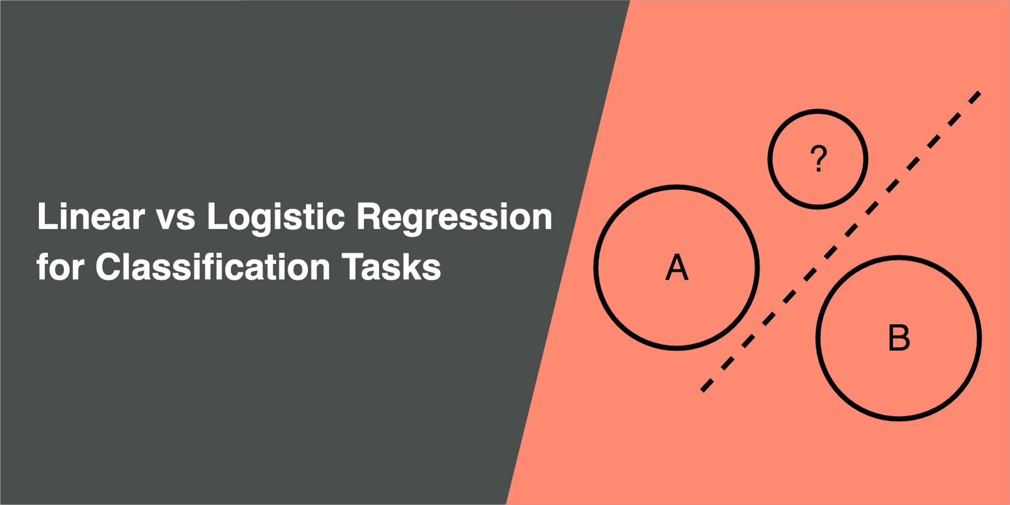 Linear Regression vs Logistic Regression for Classification Tasks